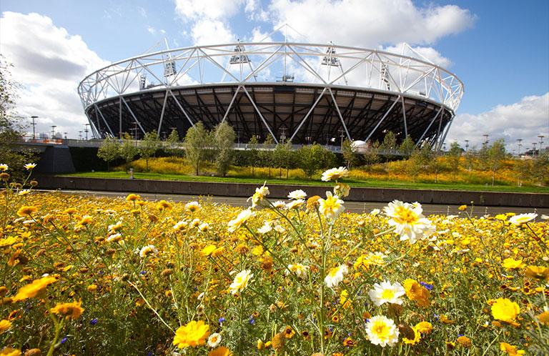 The London Stadium,  Queen Elizabeth Olympic Park